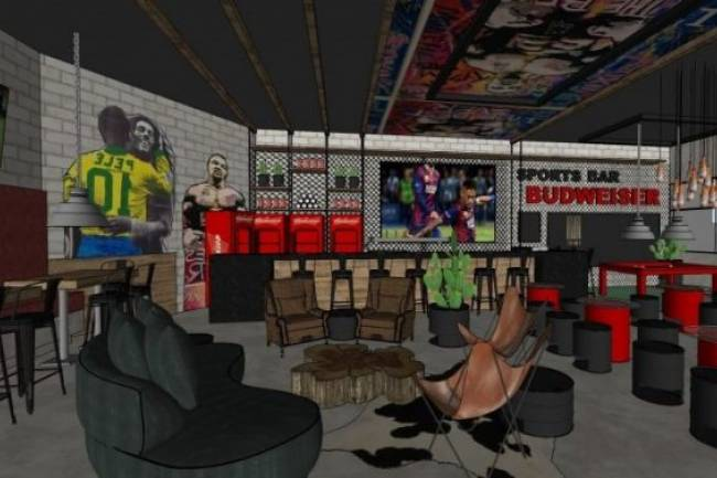 Budweiser abrirá el primer Sports Bar en Brasil