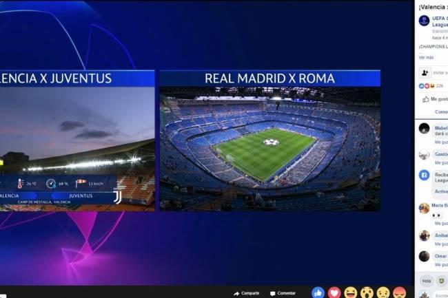 El convenio Facebook-UEFA Champions League, un éxito en Sudamérica
