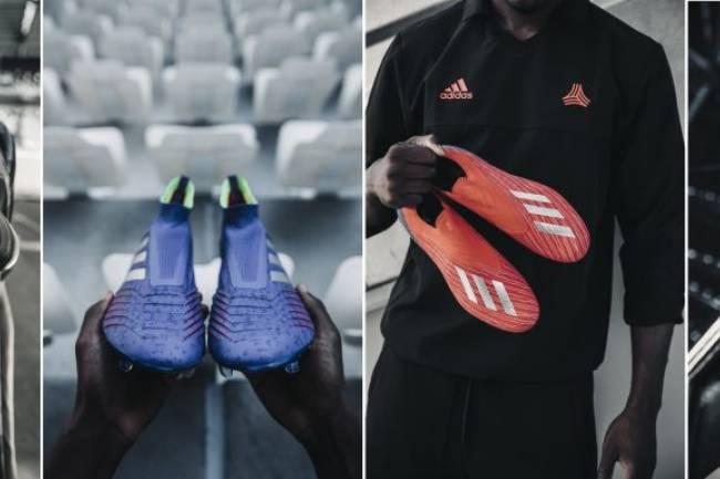 Adidas lanza el nuevo pack Exhibit de los botines Copa, Predator, X18 y Nemeziz