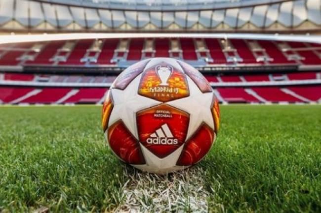 Adidas presenta el balón oficial para la final de la Champions League 2019