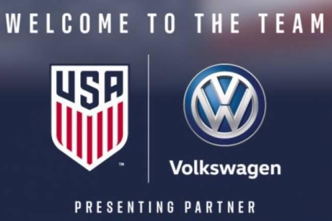 Volkswagen se convierte en socio de la US Soccer