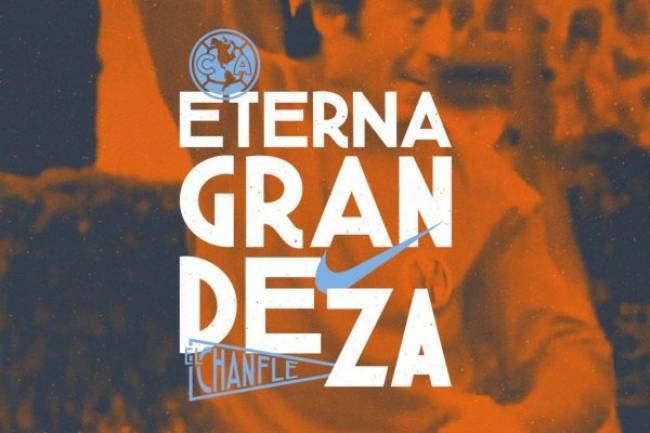Club América homenajea al Chanfle con una camiseta naranja