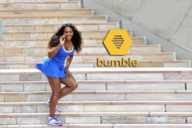 Serena Williams se convierte en embajadora de Bumble