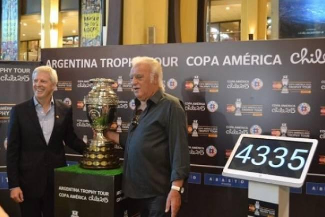 Lo que dejó el MasterCard Trophy Tour Copa América 2015