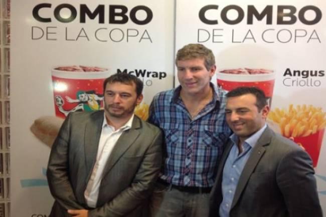 """Mc Donald´s presentó el """"Combo de la Copa"""""""