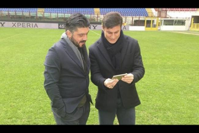 Zanetti y Gattuso recuerdan las semis de Champions de 2003