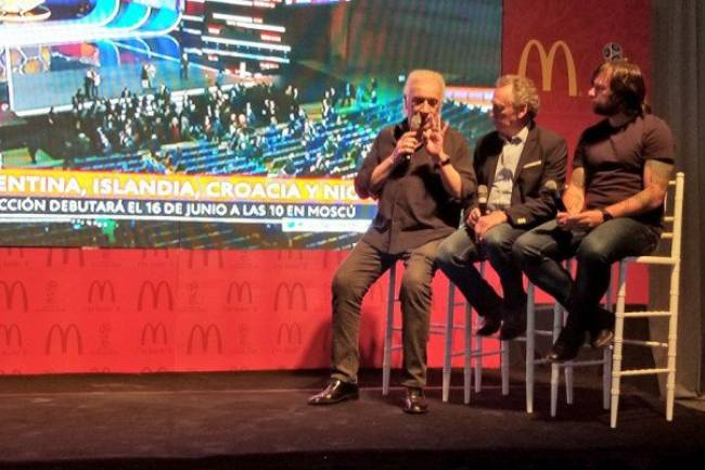 El sorteo del Mundial se vivió de forma diferente gracias a McDonalds