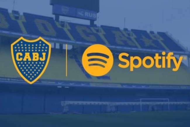 "Spotify presenta la ""playlist oficial de Boca Juniors"""