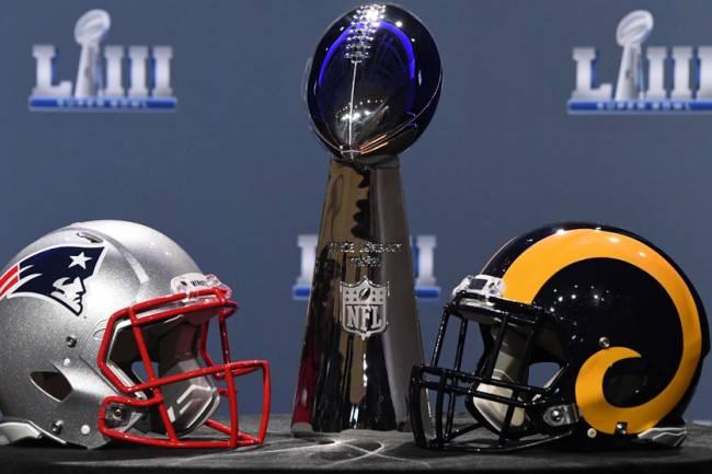 El Super Bowl LIII generó seis millones de dólares en apuestas