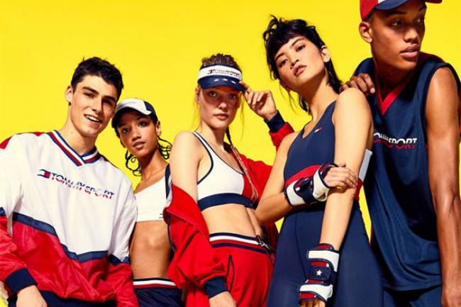 Tommy Hilfiger lanza su primera colección de ropa deportiva