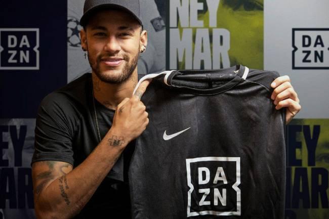 Neymar Jr. y Mourinho se unen a Dazn