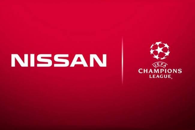 Nissan activa su patrocinio con la UEFA Champions League