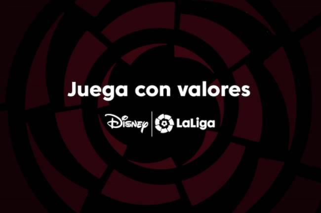 """LaLiga y Disney lanzan """"Juega con valores"""""""