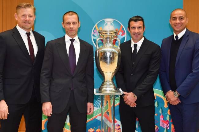 UEFA presentó los embajadores de la EURO 2020