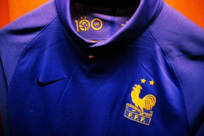 Nike se une al centenario de la Federación Francesa de Fútbol