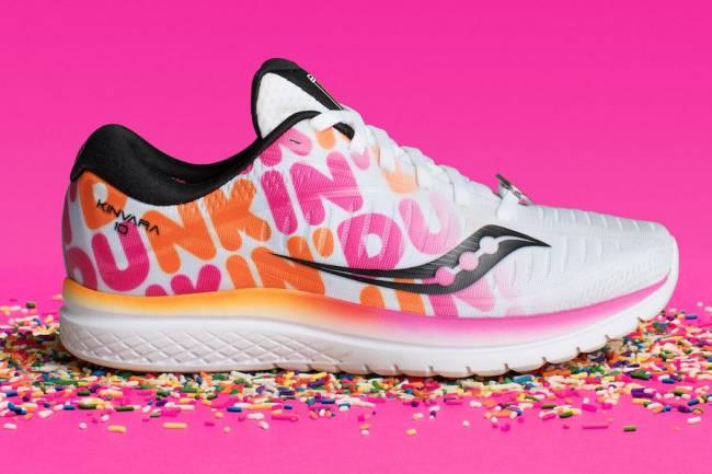 Saucony y Dunkin Donuts se unen para la Maratón de Boston