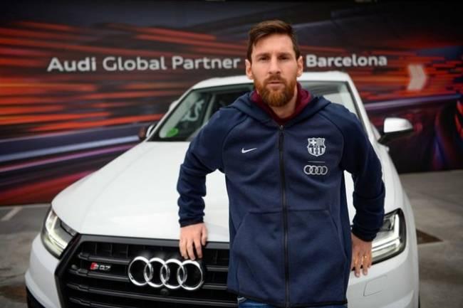 El Plantel del FC Barcelona eligió sus nuevos Audi