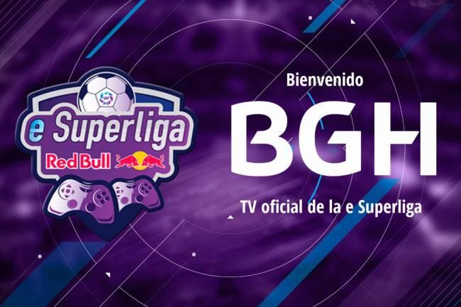 La marca de productos electrónicos BGH será la TV oficial de eSuperliga Argentina Red Bull