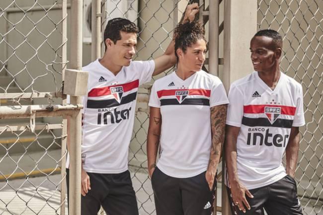 Adidas presentó la nueva camiseta de San Pablo