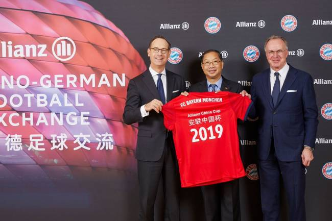 Bayern Munich sigue su expansión en China