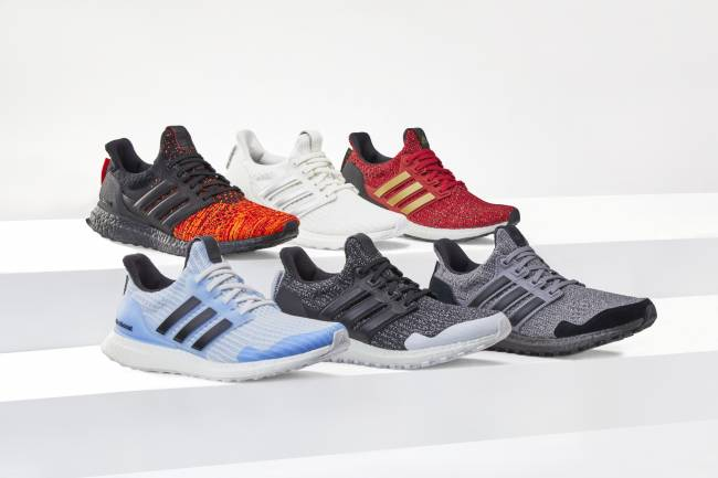 Adidas Running y HBO presentan las zapatillas Ultraboost x Game Of Thrones
