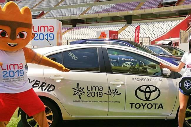 Toyota patrocinará los Juegos Panamericanos y Parapanamericanos 2019