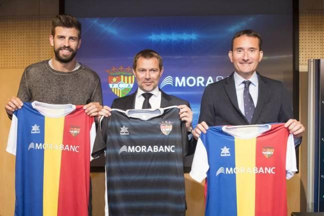 MoraBanc, new main sponsor of FC Andorra de Piqué