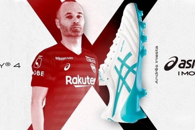 Asics lanza los botines personalizados para Andrés Iniesta