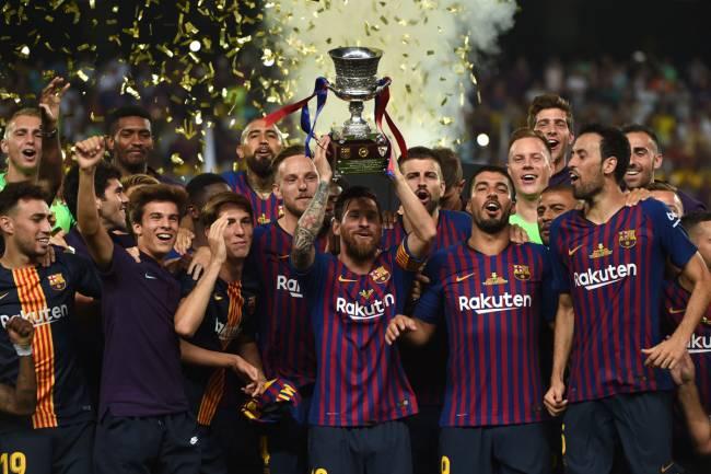La Rfef quiere llevar la Supercopa de España a Arabia