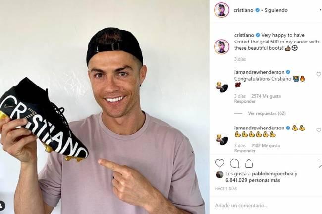 Ronaldo continúa como el futbolista con más seguidores en redes sociales