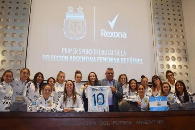 Rexona, sponsor digital de la Selección Argentina Femenina