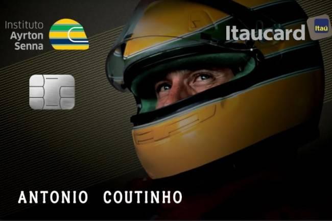 Banco Itaú recuerda en sus tarjetas a Ayrton Senna