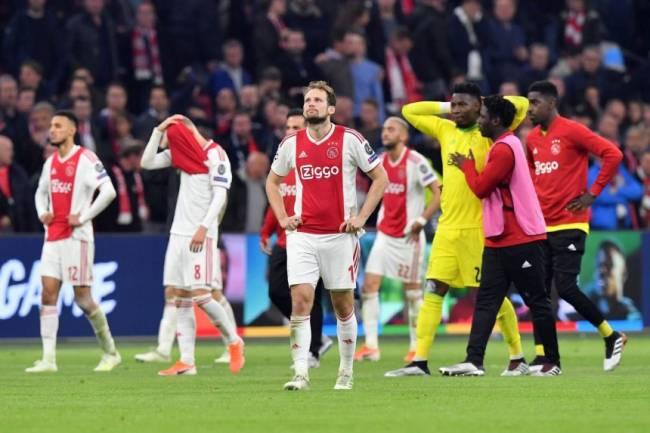 Ajax cae abruptamente en la Bolsa de Ámsterdam