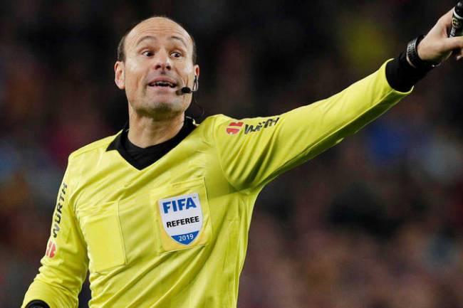 Macron vestirá a los árbitros UEFA