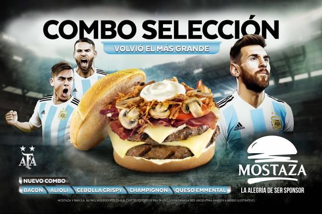 Mostaza activa su patrocinio con la Selección Argentina