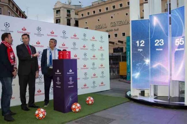 Banco Santander inicia la cuenta regresiva para la Final en Madrid