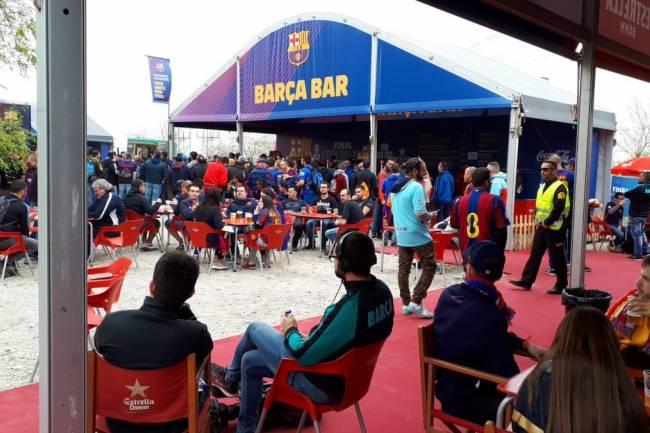 La agencia de viajes del FC Barcelona gestiona un número histórico