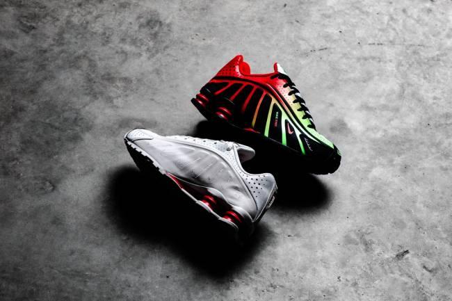 """De la mano de Neymar Jr., Nike vuelve a lanzar su modelo """"Shox"""""""