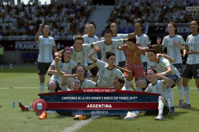 La Final del Mundial Femenino ya está disponible en FIFA 19