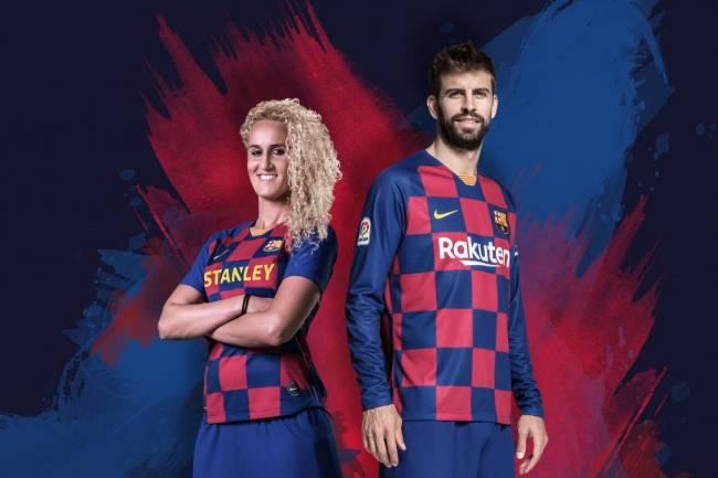 Nike presentó la nueva camiseta del FC Barcelona