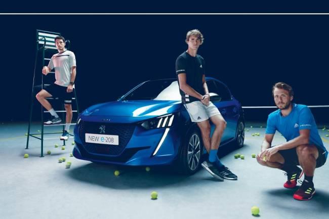 Alexander Zverev presenta el nuevo modelo de Peugeot
