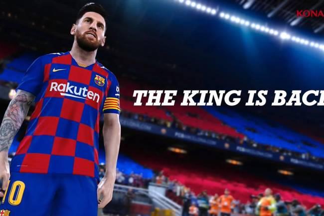 Messi estará en la tapa del eFootball PES 2020