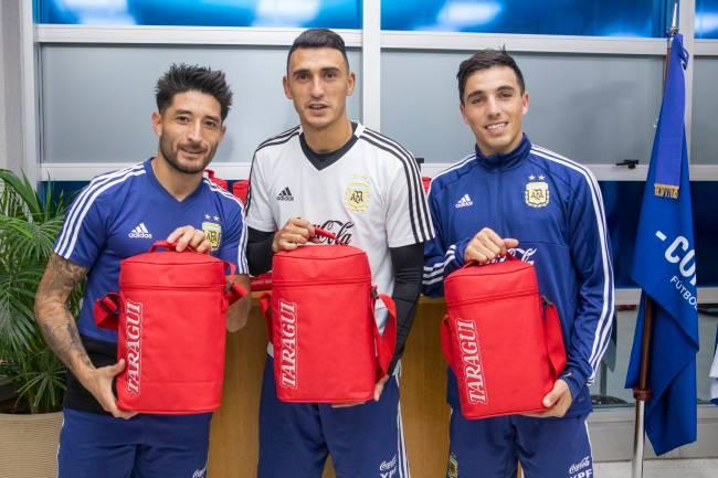 Taragüi activó su patrocino con la Selección Argentina
