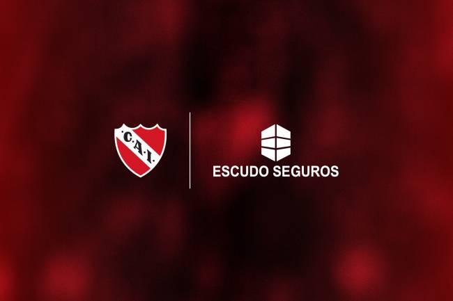 Escudo Seguros, nuevo main sponsor de Independiente