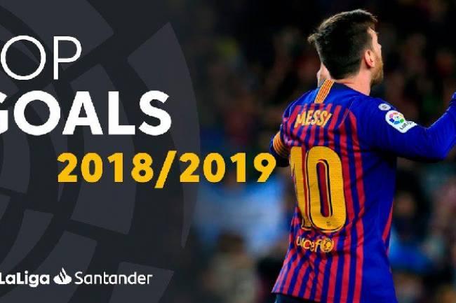 La Liga te lleva a vivir el torneo en vivo y en directo eligiendo el mejor gol de 2018/19