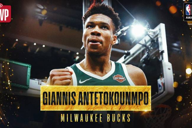 Nike celebra el MVP de Giannis Antetokounmpo