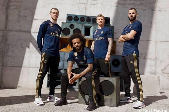 Adidas presenta la nueva camiseta suplente del Real Madrid al ritmo del Trap
