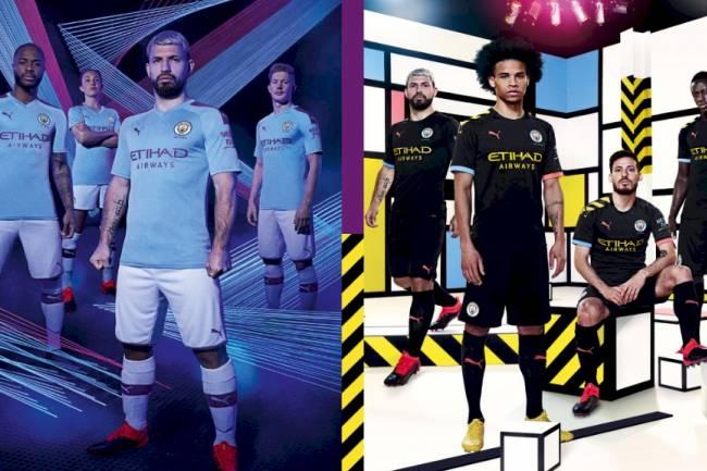 Puma desvela las nuevas camisetas de Manchester City