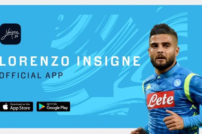 Lorenzo Insigne presentó su nueva app oficial