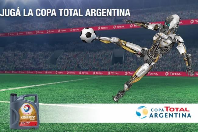 Total Argentina activa su patrocinio con la Copa Argentina